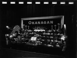 Okanagan display of agriculture, produce, and horticulture