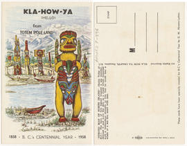 Kla-how-ya (hello) from totem pole land