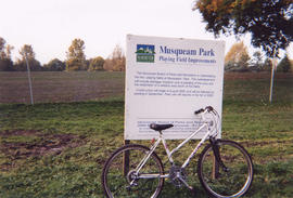 Musqueam Park sign