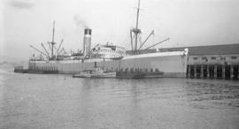 S.S. City of Rangoon [at dock]