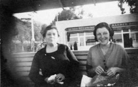 [Ruth Wing and unidentified woman]