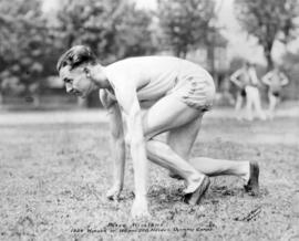 Percy Williams 1928 Winner of 100 and 200 Metres Olympic Games