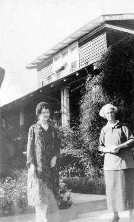 Feb. 1927 - Mrs. [Simmons] and C.L.P. [Catherine Little Pierce]