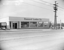 [Exterior view of Esmond Lumber Co.]