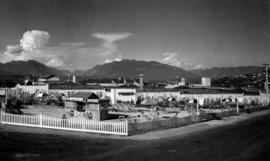 View of B.C. Electric Garden Rendezvous on P.N.E. grounds