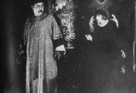 "Warner Oland (as Wu Fang) and Pearl White - ""The Lightning Raider"" 1919"