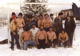 BC Sugar soccer team, winter of 1979- 1980
