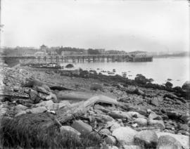 English Bay Beach, English Bay Pier and Beach Avenue