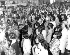Crowd at 1963 P.N.E. Hobby Show
