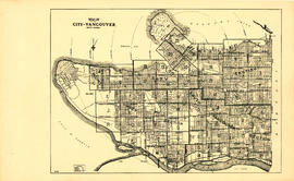 Map of City of Vancouver, British Columbia [index map]