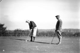 Golfers at tournament at Shaughnessy Golf Club