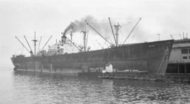 S.S. Batsi [at dock]