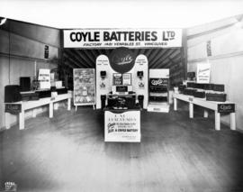 Coyle Batteries display