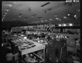 View of 1959 P.N.E. Hobby Show in Garden building