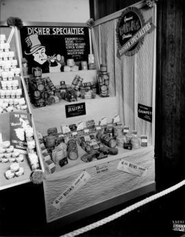Disher Specialties display of food products