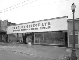 Bartle and Gibson - front of building [at 724 Kingsway]
