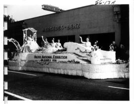 Pacific National Exhibition float in 1956 P.N.E. Opening Day Parade