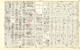 Sheet P : Trafalgar Street to Granville Street and Thirty-ninth Avenue to Forty-ninth Street