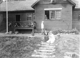 [Exterior of first house at Caulfield]