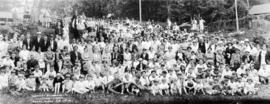 Vancouver Breweries Ltd. employees' picnic, Bowen Island