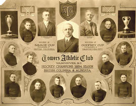 Towers Athletic Club, hockey team portraits