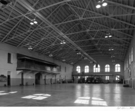 Beatty Street Drill Hall (armoury), interior hall