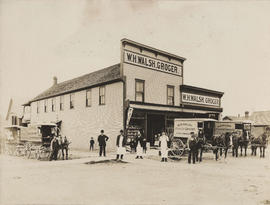 Exterior view of W.H. Walsh Grocer