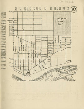 Sectional map and street directory of Vancouver, British Columbia : [Ontario Street to Forty-nint...