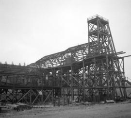 [Wooden structure at mine]