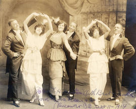 [Vaudeville actors who performed at the Orpheum Theatre]