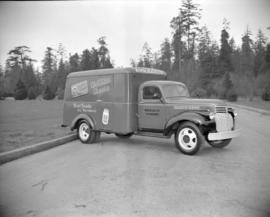 [Ainslie and Co. Ltd. delivery truck]