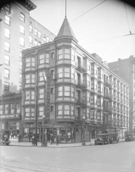 [Hotel Pennsylvania, corner of Carrall and Hastings Streets]