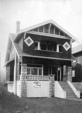 [California bungalow house, built by Vancouver Home Builders]