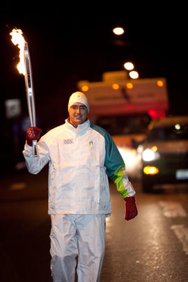 Day 003, torchbearer no. 005, Jason Minter - Nanaimo