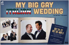 My big gay Italian wedding by Anthony J. Wilkinson : Vancity Culture Lab, 1895 Venables St.