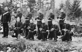 [2nd Battalion, Canadian Garrison Artillery at the Central Park Rifle Range]