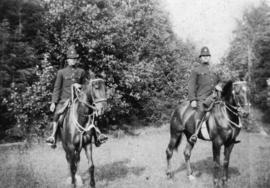 Vancouver Police [members on horses]