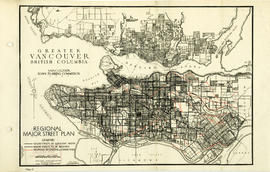 Greater Vancouver, British Columbia : regional major street plan
