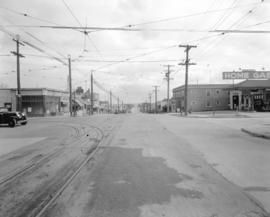Business Section in Suburbs [10th Avenue looking east from Sasamat Street]