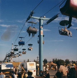 Sky Glider chair lift on P.N.E. grounds