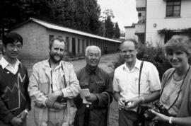 People, Botanists : Roy Forster in China