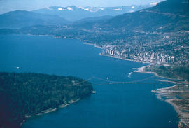 Historical : Burrard Inlet, Lions Gate