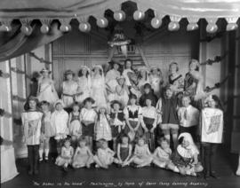 """The Babes in the Wood"" Pantomime by Pupils of Davis Fancy Dancing Academy [at 1844 Geo..."