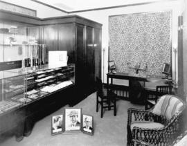 Booth and Howe, interior of  jewelry store.