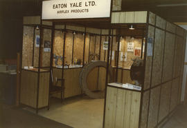 Pacific Industrial Equipment and Materials Handling Show - Eaton Yale Ltd. Display booths