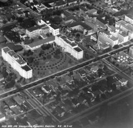 [Aerial view of] Vancouver General Hospital