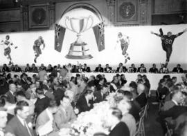 [The Grey Cup banquet]
