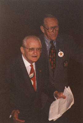 Hugh Pickett and Norman Young