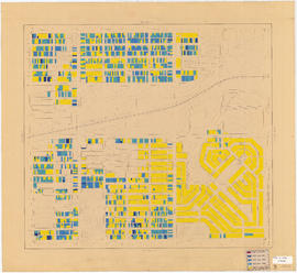 Age of buildings : Slocan Street to Boundary Road and 5th Avenue to 22nd Avenue