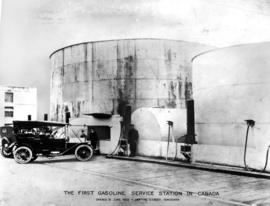 First service station - 1908 Smithe Street